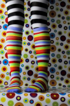 adorable colors   reminds me of g- daughters ... I always buy bright colored socks they just wear them mis-matched!!!