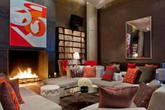 STAY: W Hotel. Unleash your inner soul man, rock god or indie hipster with a stay at the latest destination sensation in downtown Austin or stop by for a drink at the bar. W Austin, Austin Texas, W Hotel, Hotel Lounge, Bar Lounge, Hotel Lobby, Lounge Chairs, Austin Hotels, Living Room Restaurant