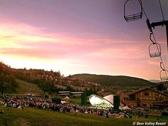 Enjoy Deer Valley's summer music concerts every Wednesday at Deer Valley Resort.