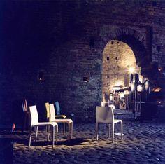 Tinelli Casa con Alias nei Sotterranei del Castello di Trezzo sull'Adda.