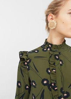 Ear Ring Flower | Blouse Flower | Mango