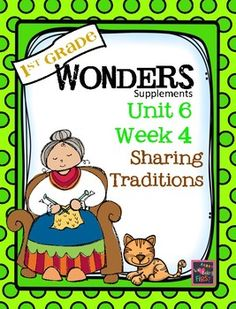 If you are already using or you are new to the Wonders Reading Program, this 80 page packet is for you.  This packet will help you teach the skills in Unit 6 Week 4 of 6.  You'll have  help with weekly lesson planning, printables for centers or word work activities, anchor charts, essential question posters, vocabulary and spelling practice, and much, much more.UNIT 6 WEEK 4Unit CoverPage 1  Weekly CoverPage 2  Table of ContentsPage 3-5 Working at HomeBUILDING THE CONCEPTPage 6  Essential…