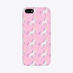 Pixel Unicorn iPhone Case by Electric Melon