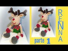 Amigurumi Tutorial, Earthy, Reindeer, Free Pattern, Concept, Christmas Ornaments, Holiday Decor, Knitting, Home Decor