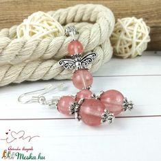 Cseresznyekvarc angyal ásvány nyaklánc fülbevaló szett (Arindaekszerek) - Meska.hu Beaded Bracelets, Jewelry, Jewlery, Jewels, Jewerly, Jewelery, Seed Bead Bracelets, Pearl Bracelet, Accessories