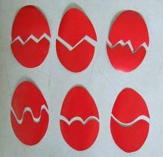 Húsvéti tojás kirakó