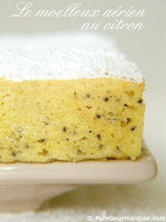 Le moelleux aérien au citron Vegan Desserts, Easy Desserts, Batch Cooking, Cooking Recipes, Cupcake Recipes, Cupcake Cakes, Cupcakes, Microwave Cake, Low Carb Meal Plan