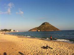 Praia da Macumba em Rio de Janeiro, RJ