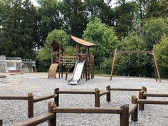 Lappset Spiel & Sport - Referenzen - GTSM Parkour, Garden Bridge, Pergola, Scenery, Outdoor Structures, Sport, Playground, Sandbox, Scandinavian Design