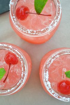ANNAPOLIS & CO: Sparkling Cherry Limeade
