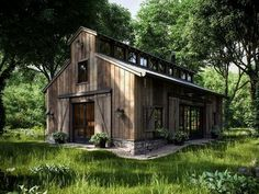 If you are going to build a barndominium, you need to design it first. And these finest barndominium floor plans are terrific concepts to begin with. Jump this is a popular article Custom Barndominium Floor Plans Pole Barn Homes Awesome. Barndominium Floor Plans, Haus Am See, Barn Living, Tiny Living, Modern Living, Country Living, Pole Barn Homes, Pole Barns, Rustic Barn Homes