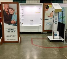 Bath Fitter Vancouver booth at Agrifair 2017.