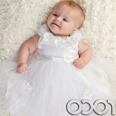 White Baby Girl Dress Discount