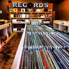 I'd love to own and operate my own record store.