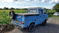 Neil Witt uploaded this image to 'Mobile Uploads'. See the album on Photobucket. Vw T3 Doka, Vw T1, Split Screen, Jeep, Camper, Van, Vehicles, Car Garage, Album