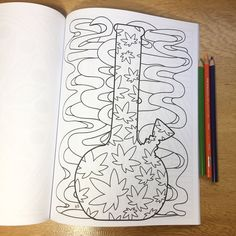 color me cannabis stoner coloring book perfect gift