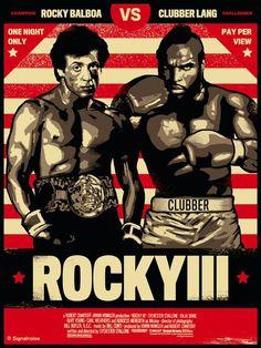 82a664ee Rocky 3. Pantalla De Cine, Portadas De Películas, Buenas Peliculas, Rocky  Peliculas