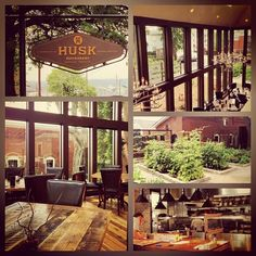 "Nashville, TN | Husk - Located in Rutledge Hill—just a few blocks south of Historic Broadway, in the heart of Downtown Nashville—""If it doesn't come from the South, it's not coming through the door,"" says Brock. The resulting cuisine is not about rediscovering Southern cooking, but rather exploring the reality of Southern food. Seed-saving, heirloom husbandry, in-house pickling and charcuterie programs by the culinary team are the basis of Husk's cuisine. http://www.husknashville.com/"