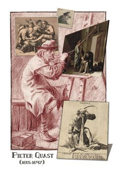 Dutch Painters from A till Z by Henk van Os, via Behance