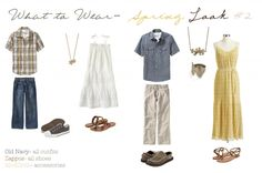 Outfit Guides by Corina Nielsen Photography