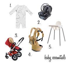 baby essentials part one
