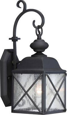 """Description Wingate 1 LT 6"""" Outdoor Wall Fixture w/ Clear Seed Glass Specs Fixture Type: Outdoor Wall Fixture UL Application: Wall UL Classification: Wet Collection Name: Wingate Style: Traditional Fi"""