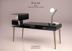 Faust Desk - Designer Monzer Hammoud - Pont des Arts Studio Paris -