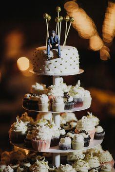 Keanu Reeves cake topper