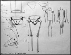 Analytical Figure Drawing SP08: Week 7 - Pelvis & Hip Structure Demo