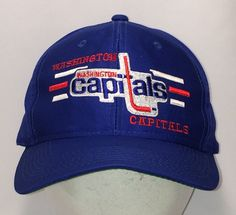 81159014551 Washington Capitals Hockey Hat T2 - A8003