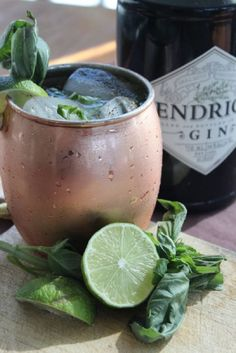Kick off happy hour with a Ginger Mule.