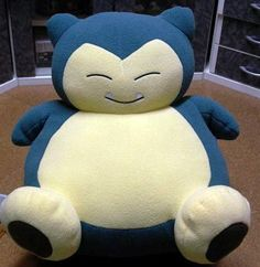 Pokemon Snorlax Plush