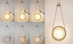 Halo Lamp - Interactive Light Fixture http://bestdesignideas.com/halo-lamp-interactive-light-fixture