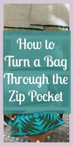 How to turn a bag th
