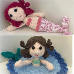 Goodbye February!! This was one of my busy months and missed picking up a hook I got these little ladies finished. Hopefully more made in March. #lilumigifts #loveitlikeyoumadeit #crochet #oneandtwocompany #mermaid #amigurumi #lovey #comfort #shophandmade #madeinbrisbane by lilumigifts