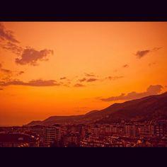 Sunset in #Turkey #sunset #sunsetporn #sunrise #sunshine #sky #skyporn #love #alanya #antalya #beach #summer #mountain #amazing #beautiful #stunning #view #cool #turk #skyline #village #cottage - @salesbook- #webstagram