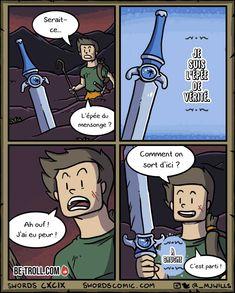 Serait-ce l'épée du mensonge ? - Be-troll.com