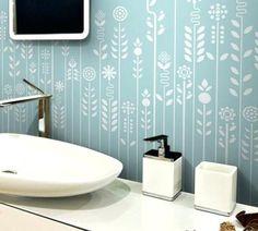 Haus Design Gallerie Tapete Badezimmer #LavaHot http://ift.tt/2lfzzH9