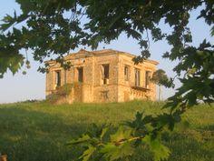 Old building,charmed solitude Lasteika Ilias, Greece