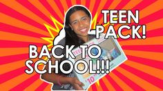 Back to School: Teen Pack!