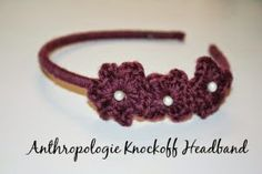 Anthropologie Knockoff Headband - Free Crochet Headband