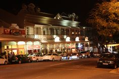 Night View of Florida Road, Durban