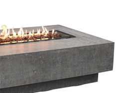 Westport Outdoor Fire Pit Propane Table 34 Inches Square | Etsy Patio Stone, Concrete Patio, Outdoor Fire, Outdoor Decor, Propane Fire Pit Table, Patio Heater, Reinforced Concrete, Fireplaces, Warm And Cozy