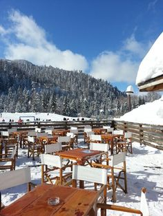 Where we were :-)  Winter in Montenegro, Kolasin ski centre