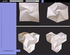 workshop AA curved folding workshop