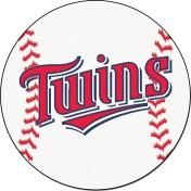 Minnesota Twins baseball floor mat