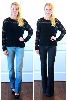 How To Look 10 Pounds Skinnier - Wear DARK wash Jeans!! Click image to find out more details about jeans