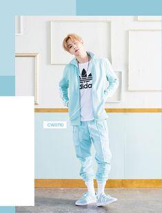 #GOT7 #갓세븐 18.03.14 #GOT7_X_Adidas #Mark #마크 MARK'S SKY BLUE