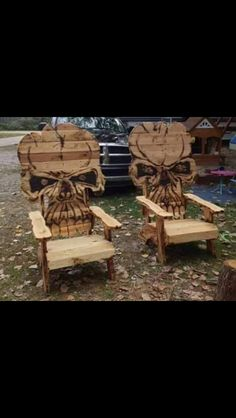 Skull chairrs LunaRip~ These are So Cool! & skull chair plans - by Brent Golden @ LumberJocks.com ~ woodworking ...