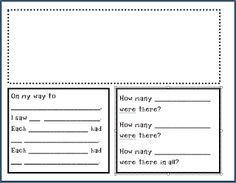 "Create●Teach●Share: Math + Literature  freebie, kids create a ""multiplication story"""